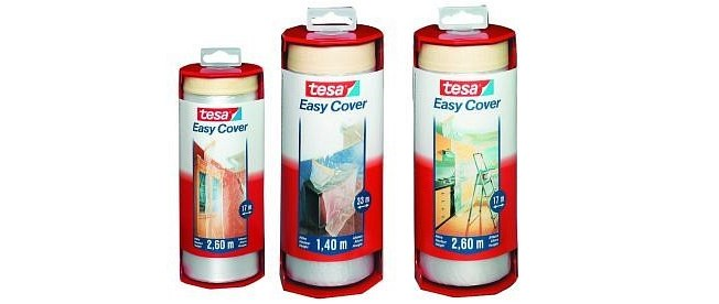 Tesa Easy Cover Täckplast, Dispenser