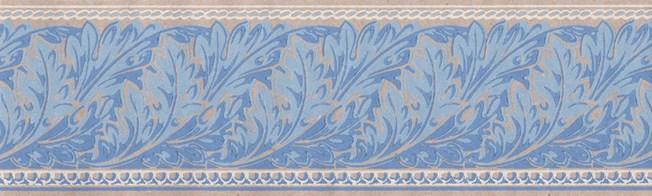 Lim & Handtryck Viktoria II - Kvist/Blå