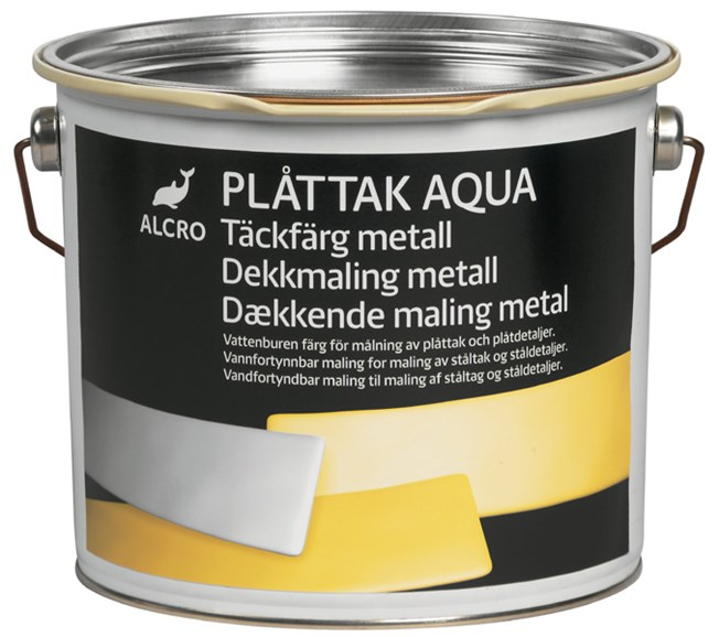 Alcro Plåttak Aqua