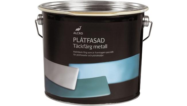 Alcro Plåtfasad - Täckfärg Metall