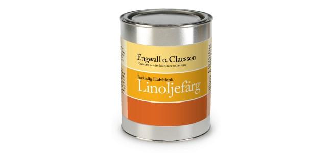 Engwall o Claesson Linoljefärg invändig halvblank