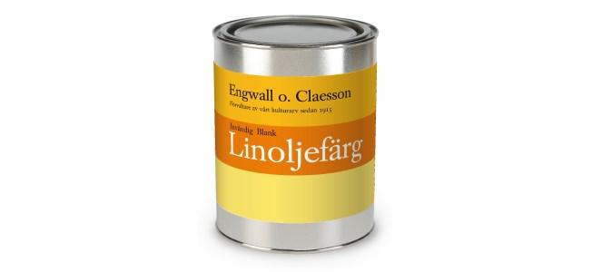 Engwall o Claesson Linoljefärg invändig blank