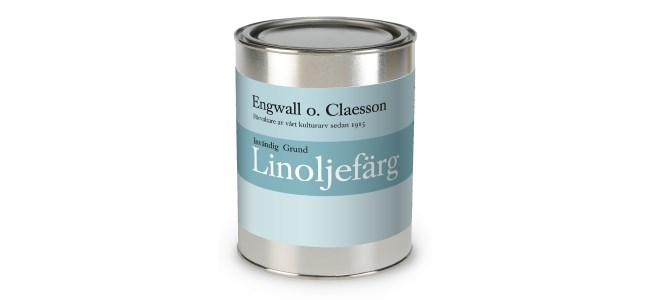 Engwall o Claesson Linoljefärg invändig Grund