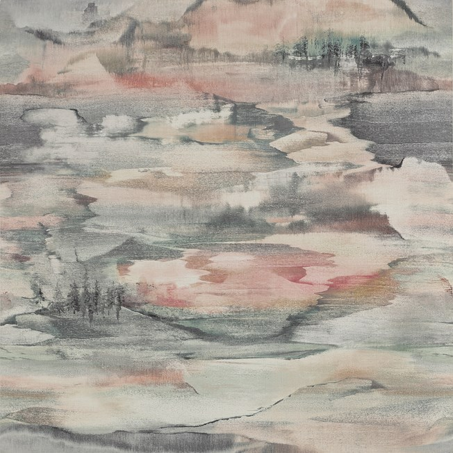 Jane Churchill Solace Pink/Grey