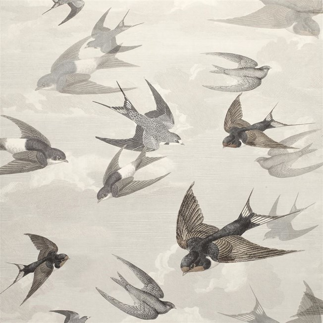 Designers Guild Chimney Swallows - Dusk