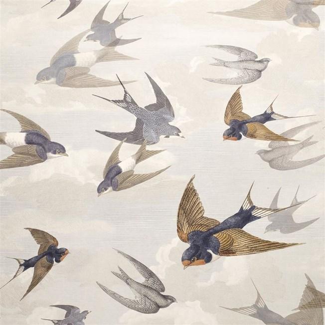 Designers Guild Chimney Swallows - Dawn