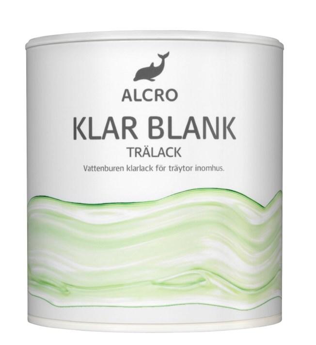 Alcro Klar Trälack Blank