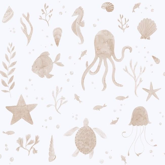 Sandberg Wallpaper Della Coral tapet