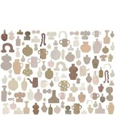 Sandberg Wallpaper Emilia Ilke Pastel tapet