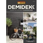 Jotun Demidekk Vackra och Hållbara Utomhuskulörer