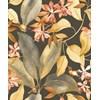 Casadeco Delicacy Birdsong Noir/Jaune/Orange
