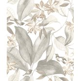 Casadeco Delicacy Birdsong Taupe/Gris