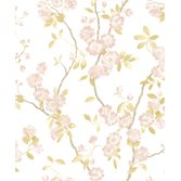 Casadeco Delicacy Spring Flower Taupe/Rose