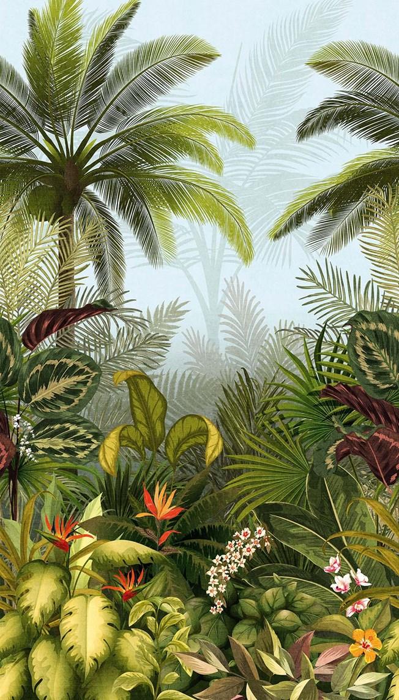 Grandeco Tapetterminalen Jungle Fever tapet