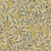 Morris & Co Fruit Blue/Gold/Brown