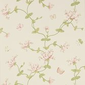 Colefax and Fowler Honeysuckle Garden Pink Green