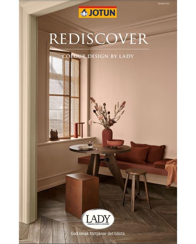 Jotun Lady Rediscover Färgkarta 2021