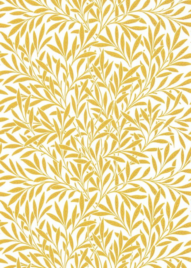 Morris & Co Willow Yellow tapet