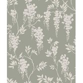 Sandberg Wallpaper Hedvig Garden Green tapet