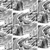 Sandudd Moomin Mörkö tapet