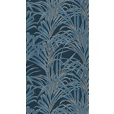 Casadeco Fern Blue Gold