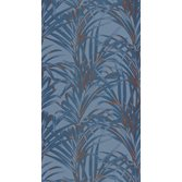 Casadeco Fern Blue Copper