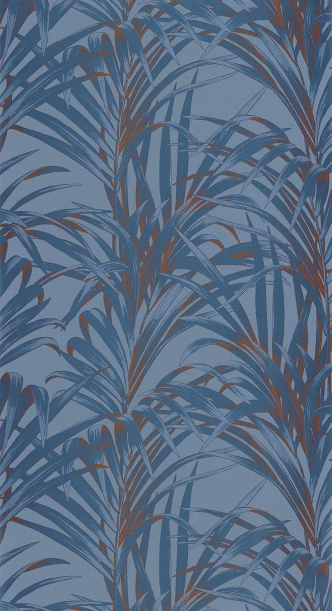 Casadeco Fern Blue Copper