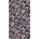 Casadeco Tulip Blue/Copper