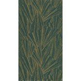 Casadeco Eclat Foil Green/Gold