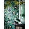Casamance Majoliques Navy Blue/Emerald