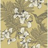 Carma 1838 Aurora, Hummingbird Mustard tapet