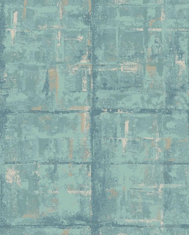 Carma 1838 Aurora, Patina Seafoam tapet