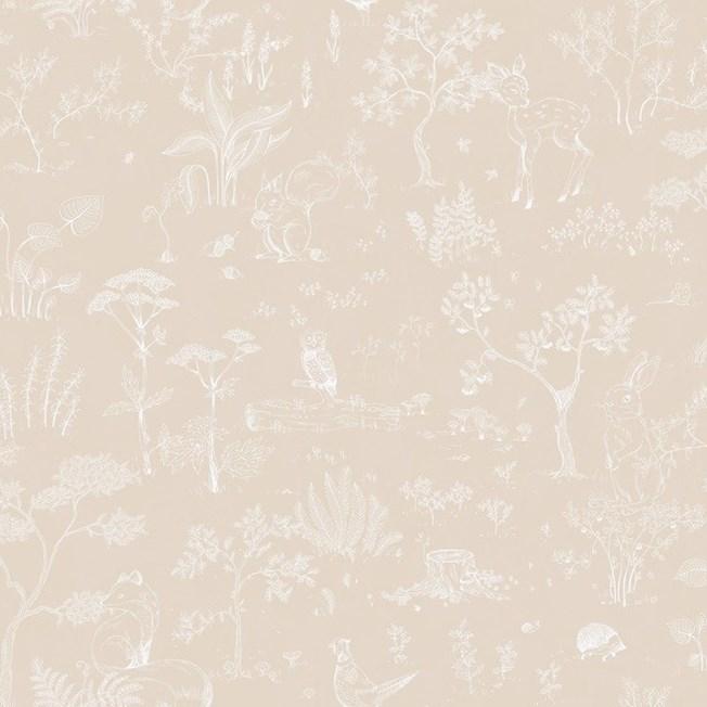 Sandberg Wallpaper Hollie Peach tapet