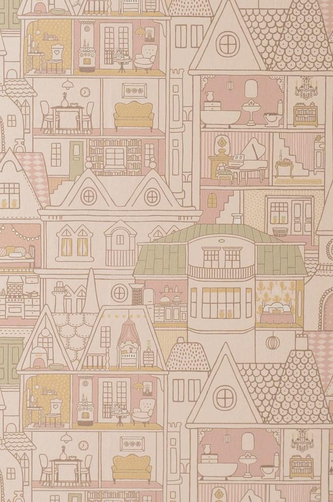 Majvillan Dollhouse Sunny Pink