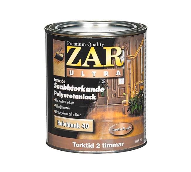 ZAR ZAR Ultra Polyuretanlack Interiör Antikmatt 10 (oljebaserad)