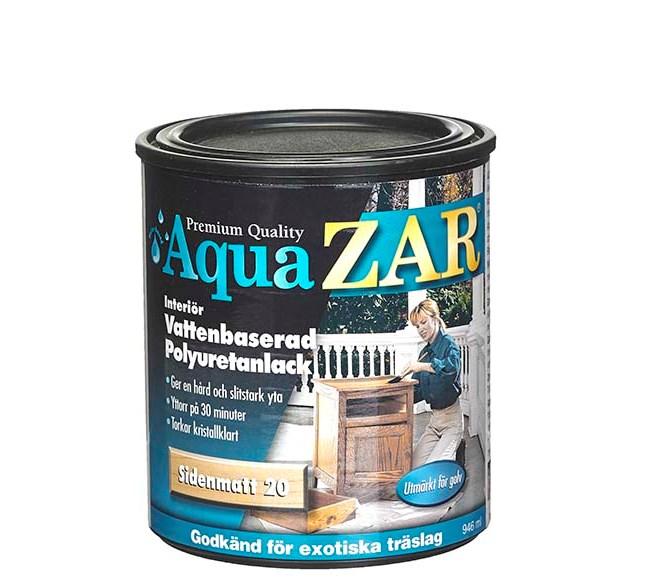 ZAR ZAR AQUA Polyuretanlack Interiör Halvblank 40 (vattenbaserad)