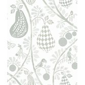 Littlephant Fruit Garden - White/Green tapet
