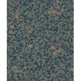Sandberg Wallpaper Linnea Midnight Blue tapet