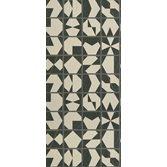Osborne & Little Kutani Vinyl Ivory/Charcoal tapet
