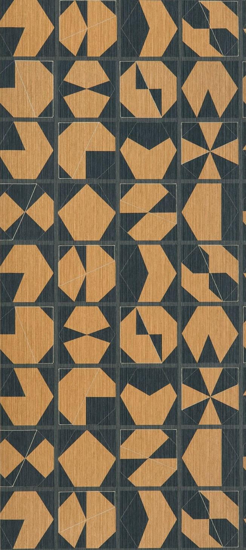 Osborne & Little Kutani Vinyl Copper/Slate