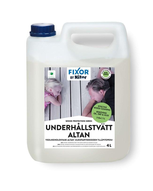 Nitor Fixor by Nitor Underhållstvätt Altan