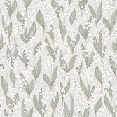 Sandberg Wallpaper Liljekonvalj Spring Green tapet