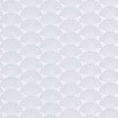Casadeco So White 4 Pearl Blanc Argent