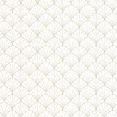 Casadeco So White 4 Stardust Blanc Or