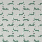 Jane Churchill March Hare Green
