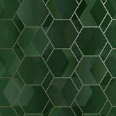 Intrade Amazonia Cassius Green/Gold tapet