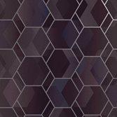Intrade Amazonia Cassius Purple/Silver tapet