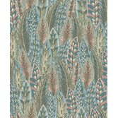 Intrade Amazonia Amherst Coral/Blue tapet