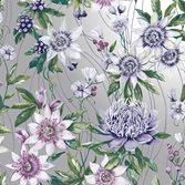 Intrade Amazonia Passiflora Silver tapet