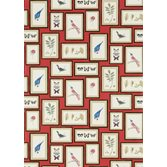 Sanderson Picture Gallery Red/Multi tapet